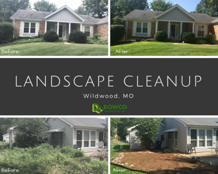 Landscape Cleanup Wildwood MO