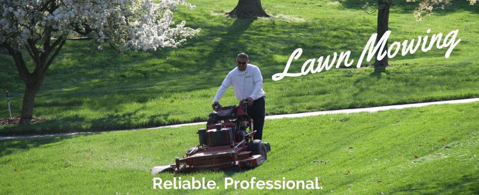 Lawn Mowing Website Banner