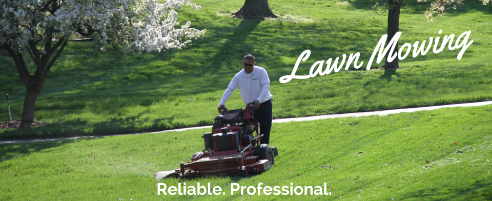 Lawn Mowing Website Banner